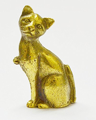 Thai Amulets Statue Wealth & Lucky Pendants Wealth Siamese CAT Hunting Money Love Luck Rich Good Business Amulet