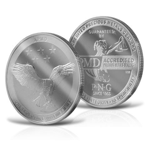 2017 Hm Mint Mark Accredited Precious Metals Dealers Roll Of 20  999 Pure Silver Rounds Brilliant Uncirculated