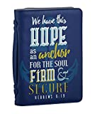 Set of 2 Hope Is An Anchor Bible Cover