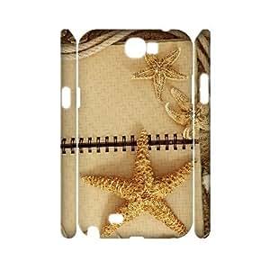 GRTT Gorgeous Samsung Galaxy Note 2 N7100 case Starfish Customized Hard Case RT832645