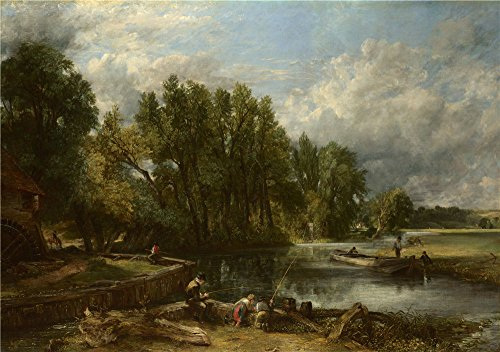 [Oil Painting 'John Constable Stratford Mill ' Printing On High Quality Polyster Canvas , 10 X 14 Inch / 25 X 36 Cm ,the Best Hallway Gallery Art And Home Decoration And Gifts Is This Imitations Art DecorativePrints On] (Duckbill Costume Pattern)