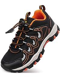 Boys Shoes Boys Tennis Running Sneakers Waterproof Hiking Shoes Kids Athletic Outdoor Sneakers Slip Resistant(Little/Big Boys)