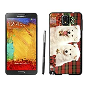 Hot Sell Christmas Doggies Black Samsung Galaxy Note 3 Case 1