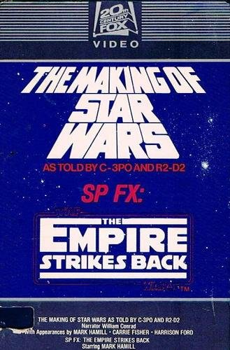 Making of Star Wars (1977) & SP Fx The Empire Strikes Back (1980) (Double Feature) (Star Wars The Empire Strikes Back Vhs)
