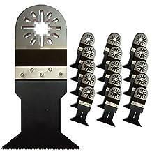 ZFE® Bi-Metal Multi Tool Saw Blades For Fein Bosch Ryobi Dremel Makita Multimaster Multifunction Tools Pack of 16pcs