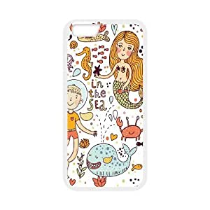 Case Cover For HTC One M7 Sea creatures Phone Back Case Art Print Design Hard Shell Protection FG086411