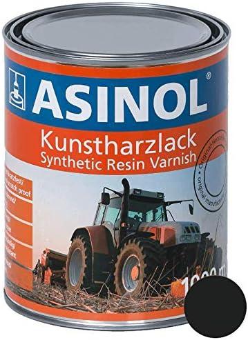 Asinol HÜrlimann Dunkelgrau 1 000 Ml Kunstharzlack Farbe Lack 1l Liter Dose Auto