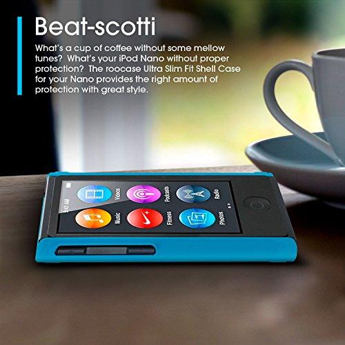 ipod nano 7 case roocase ultra slim fit black shell. Black Bedroom Furniture Sets. Home Design Ideas