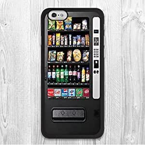"For iPhone 6 6 Plus Case, Snack Vending Machine Pattern Fashion Design Protective Hard Phone Cover Skin Case For iPhone 6 (4.7"") + Screen Protector by mcsharks"