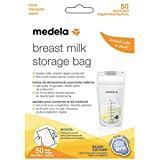 Medela Breast Milk Storage Bags, 50 Count, Ready to