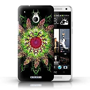 KOBALT? Protective Hard Back Phone Case / Cover for HTC One/1 Mini | Dream Catcher 2 Design | Symmetry Pattern Collection
