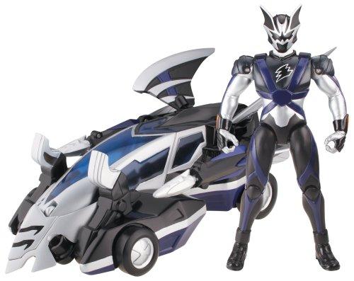 Power Rangers Jungle Fury Thunder Animal Vehicles- Blue Thunder Roar Vehicle]()