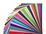 Tissue Paper Gift Wrap Bulk All Colors Wrapping 100 200 300 or 500 Sheets 15 x 20 Assorted Black Blue Fuchsia Gold Green Orange Pink Purple Red Silver White Yellow: more info