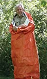 Emergency Zone Multilayer Reflective Sleeping Bag/Bivy Sack with HeatStore