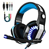 Gaming Headset for PS4 Xbox One, Beexcellent Stereo Over Ear Gaming Headphones Noise
