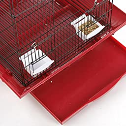 Prevue Pet Products Clean Life Playtop Cage, White