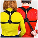 Tresalto Posture Corrector Clavicle Support Brace for Men and Women Upper Back