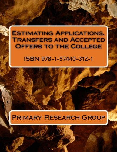 Estimating Applications, Transfers and Accepted Offers to the College