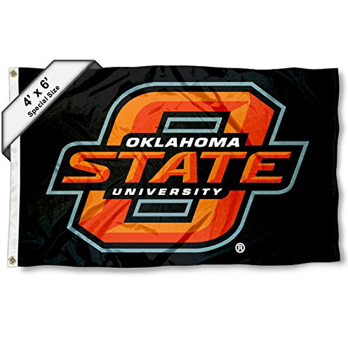 OSU Cowboys 4'x6' Flag by College Flags and Banners Co.