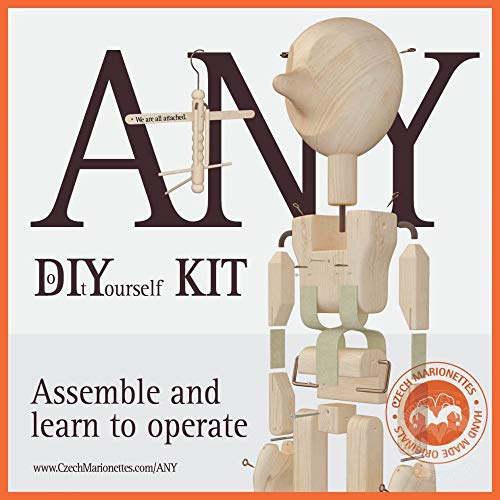 Any - Do it Yourself KIT - Make Your own Marionette ()