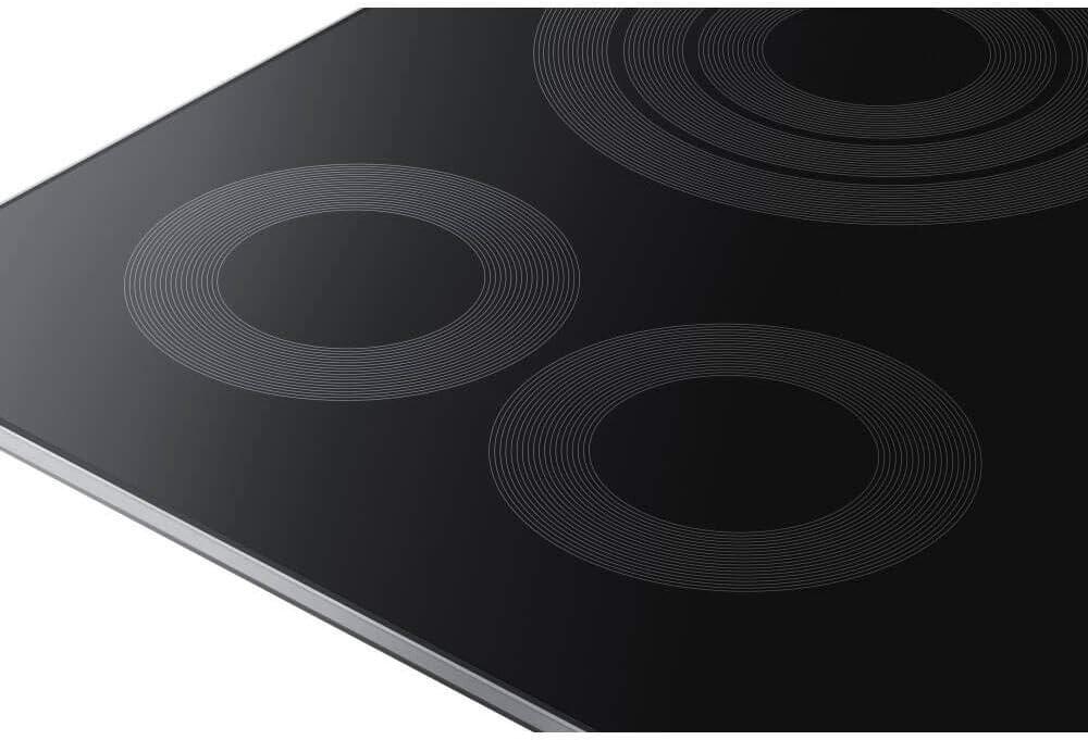 Amazon.com: Samsung 36 en. Superficie de vidrio eléctrica de ...