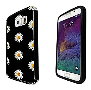 562 -Cute Vintage shabby Chic Floral Roses Daisy Design Samsung Galaxy Note 5 Full Body CASE With Build in Screen Protector Rubber Defender Shockproof Heavy Duty Builders Protective Cover