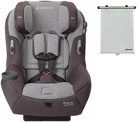 Maxi-Cosi Pria 85 Convertible Car Seat in Loyal Grey with Bonus Retractable Window Sun Shade