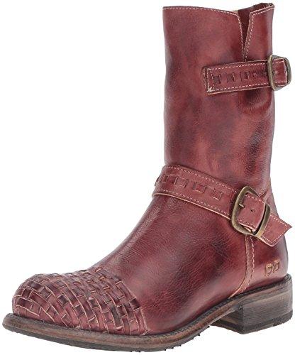 Säng | Stu Womens Ashwell Boot Mörk Scarlet Rustik
