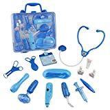 Jerryvon Doctor Kit Pretend Play Doctor Playset Medical Carrycase Nurses Toy Set Fun Toy Gift Early Education For Kids 3+ Years