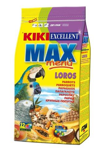 Max Menú Loros Kiki