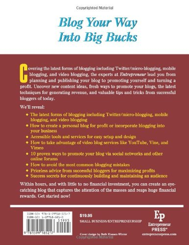 Start-Your-Own-Blogging-Business-Generate-Income-from-Advertisers-Subscribers-Merchandising-and-More-StartUp-Series