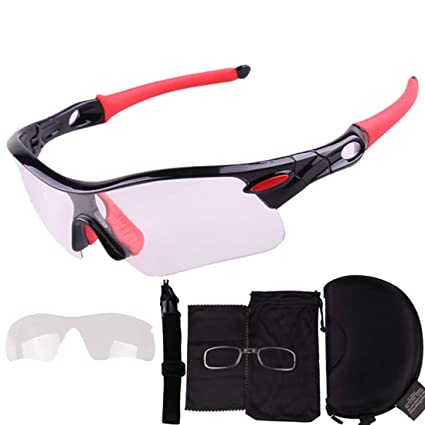 030c9341e5 Hemotrade Gafas para bicicletas al aire libre Gafas que cambian de color  Gafas adecuadas para los