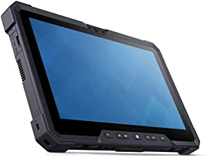 Dell Latitude 12 7000 7202 RUGGED 11.6 inches HD TouchScreen Outdoor Business Tablet - Intel Core M-5Y71, 256GB SSD, 8GB RAM, 2 Webcam, Windows 10 Pro - Warranty 2021 (Renewed)