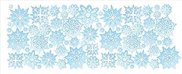 Amazon.com: Blue Snowflake Border / Wall Decals / Snowflake Wall Decor:  Home U0026 Kitchen