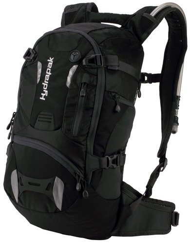 Hydrapak Morro Hydration Pack, 3-Liter/100-Ounce, Black, Outdoor Stuffs
