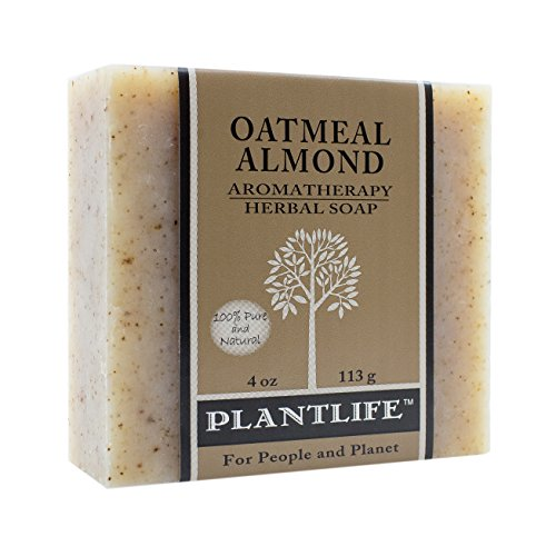 Plantlife, Soap Oatmeal Almond, 4 Ounce