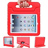speaker bulldog - iPad case, iPad 2 3 4 Case, ANTS TECH Light Weight [ Shockproof ] Cases Cover with Handle Stand for Kids Children for iPad 2 & iPad 3 & iPad 4 (iPad 234, Red)