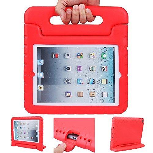 Funda para iPad, iPad 2, 3y 4, diseño hormigas Tech Luz Peso [Shockproof] casos Funda con asa y función atril para niños...