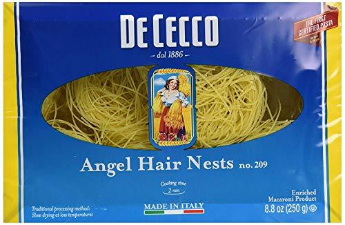 De Cecco Pasta Angel Hair Nests Pasta, 8.8 oz