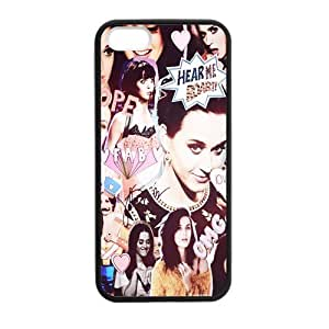Music Star Band Series Sexy Popular Katy Perry Personalized Cool Case For Apple Iphone 5,5S - Custom Personalized Hard Plastic Phone Case Shell Back Cover by mcsharks