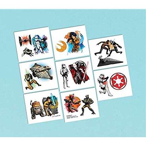 Star Wars Tattoos - 16 Pack (Star Wars Tattoos Ideas)