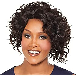 Vivica A. Fox MEGAN-V New Futura Fiber, Natural Baby Hair Lace Front Wig in Color P273033