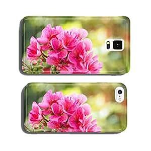"Bicolor geranium ""avenida mosaic purple"" cell phone cover case Samsung S6"