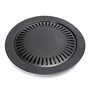 MyLifeUNIT Stovetop BBQ Grill, Barbecue Pan Griddle, Grill Pan Nonstick, 12 x 10 inch