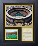 """Legends Never Die """"Pittsburgh Pirates Three Rivers Stadium"""" Aerial Framed Photo Collage, 11 x 14-Inch"""