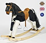 'PIE-BALD' Handmade Brand New Rocking Horse'Titan IV' from MJMARK SALE SALE