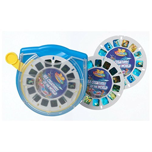 3D Viewer SEA CREATURES of the World Set Box Viewmaster Marine Life 3 Reels by Unbranded
