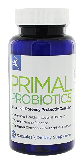 Amazon primal blueprint probiotics enhances digestion primal blueprint probiotics enhances digestion nourishes healthy intestinal bacteria boosts immune function malvernweather Gallery