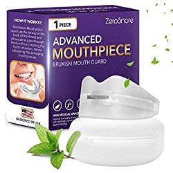 ZeroSnore Bruxism Mouthpiece Adjustable Mouth Night Guard, Sleep Aid Device Mouthpiece for Men and Women
