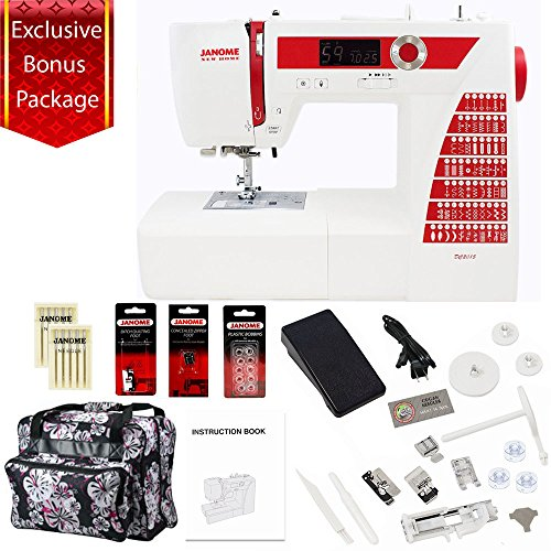 Janome DC2015 Limited Edition Computerized Sewing Machine w/Bonus Package!